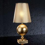 60 cm, guldfärgad bordslampa Terra