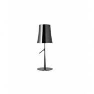 Birdie Grande Metall Bordslampa Svart Krom - Foscarini