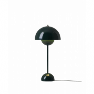 Flowerpot VP3 Bordslampa Dark Green - &tradition