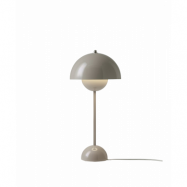Flowerpot VP3 Bordslampa Grey Beige - &tradition