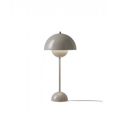 Flowerpot VP3 Bordslampa Grey Beige - &tradition