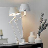 Jieldé Aicler AIC373 bordslampa, vit