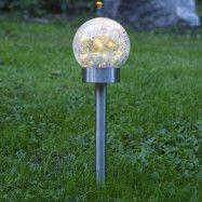 LED-solcellslampa Glory, 3 i 1
