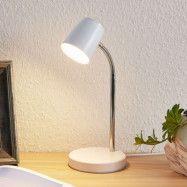 Lindby Jegor LED-bordslampa vit
