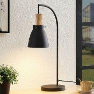 Lindby Trebal bordslampa med trädetaljer