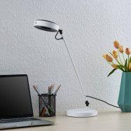 Lucande Vilana LED-bordslampa, vit
