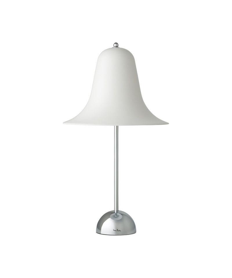Pantop Bordslampa Matt Vit Verpan Inredningbutiken