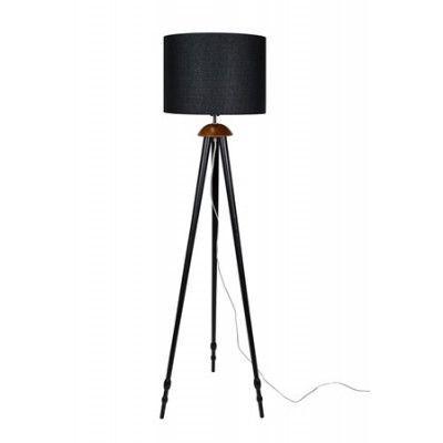 Globen Lighting Golvlampa Anastasia - Svart