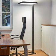 Kontors-LED-golvlampa Lola 4 000 K, DALI