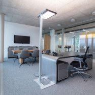 Luctra Vitawork LED-golvlampa till kontor 17000 lm