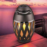 LED-dekorbelysning Stream med högtalare