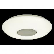 Musica 40cm LED + högtalare (Opalglas)