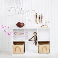 """Oliver Furniture 3 extra hyllor till""""Seaside hylla låg"""""""
