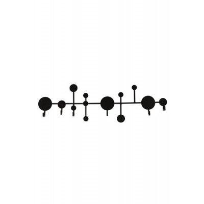 House Doctor Klädhängare Circles 20x41x67 cm - Svart