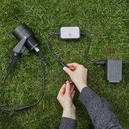 Garden 24 LED-spotlight, svart, 6 watt
