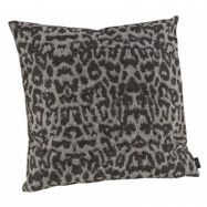Artwood Leopard Kuddfodral 50x50 Black/grey