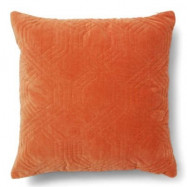 Classic collection Geometric kudde 50x50 - Burnt orange