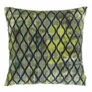 Jakobsdals Portofino Kuddfodral 45x45 - Grön mönster