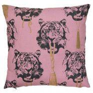 Coco Tiger rosa kudde 2-pack