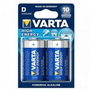 Alkaliskt batteri Varta LR20 D 1,5 V 16500 mAh High Energy