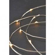 Ljusslinga 80 lampor 10m Silver