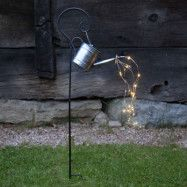 LED-solcellslampa Dew Drop Water Can