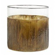Ljusstake/Vas i Glas Henna 15cm