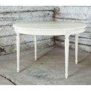 Allinwood Pärla rund matbord – Kritvit