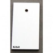 Allinwood Profil oval matbord – Kritvit