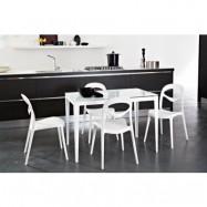 Domitalia Matbord + 4 st stolar