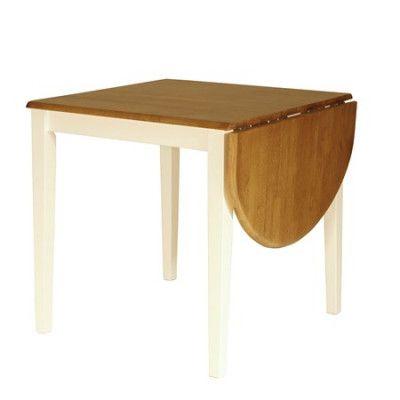Falsterbo Brisbane klaffbord - kvadratiskt, vit