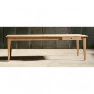Heerenhuis Farmer oak matbord - 250x100
