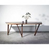 Noyer matbord – 200x90