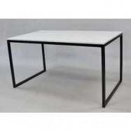 Runa Design Rektangulär marmor matbord halvkub
