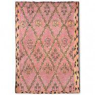 Handgjord Woolen Berber Matta Terra/Orange 250x350 cm