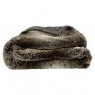 Artwood Grey bear throw fuskpäls pläd - 127x150