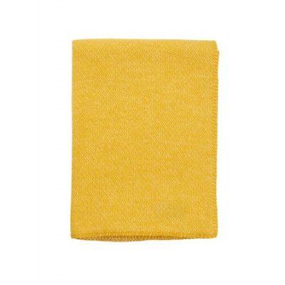 klippan pläd gul