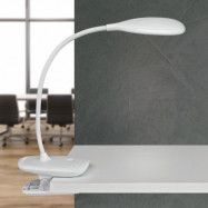 LED-skrivbordslampa MAULjack batteri, dimbar