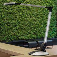 LED-skrivbordslampa Optimus med lampfot