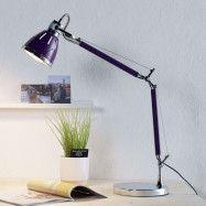 Violett skrivbordslampa Jerona