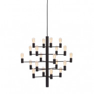 Manola Krona (20) Svart Dimbar LED - Belid