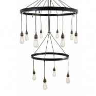 Mullan Lighting Lome 2 tier takkrona
