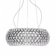 Caboche Grande LED Taklampa Transparent Dimmable - Foscarini