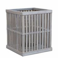 Artwood Cage lykta 25x25x30 Bambu