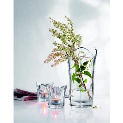 Erik Bagger Set vas+lykta NATURE 3-pack