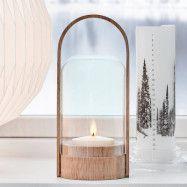 LE KLINT Candle Light LED-lykta, ek