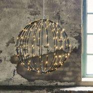 LED-pendellampa Mounty Outdoor, Ø 50 cm