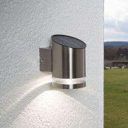 LED-solcellslampa Salma för väggmontering