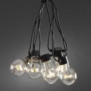 Ljusslinga utomhusbruk 10 lampor