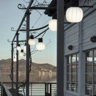Martinelli Luce Kiki utomhusljusslinga 10 lampor